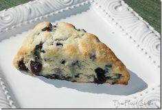 Blueberry White Chocolate Scones - my absolute favorite mmmmmmmm