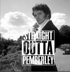 Mr Darcy Straight Outta Pemberley