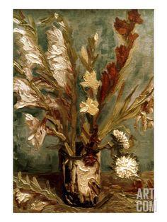 Van Gogh: Vase, 1886