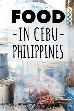 Experience the unique cuisine Cebu City has to offer. You'll be surprised what original food there are to be eaten all over the Philippines. In this foodie guide I focused on Cebu, its amazing street food and other yum options. Philippines Vacation, Philippines Food, Asia Travel, Travel Tips, Travel Guides, Spain Travel, Travel Advice, Travel Photos, Cebu City