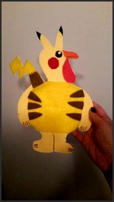 Disguise a Turkey - Pikachu Pikachu Pikachu, Pokemon, Pikachu Kunst, Pikachu Memes, Pikachu Tattoo, Pikachu Face Painting, Thanksgiving Art Projects, Turkey Disguise, Disguise Turkey Project