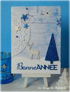 idée de carte de noel fait main 06 vie www.cartefaitmain.eu #carte #diy Homemade Christmas Cards, Stamping Up, Winter Wonderland, Cardmaking, Diy And Crafts, Greeting Cards, Holiday, Nouvel An, January 2018