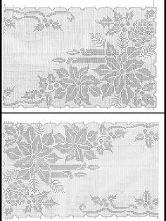 No automatic alt text available. Crochet Curtains, Crochet Tablecloth, Crochet Doilies, Swedish Embroidery, Crochet Mat, Filet Crochet Charts, Fillet Crochet, Crochet Winter, Knitting Magazine