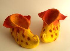 Tutorial Felted slippers Мастер класс волшебные тапочки. Обсуждение на LiveInternet - Российский Сервис Онлайн-Дневников