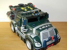 Swat s.w.a.t. battle #shell tmnt teenage mutant ninja #turtles vehicle van #truck,  View more on the LINK: http://www.zeppy.io/product/gb/2/322406034108/
