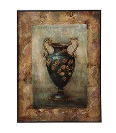 Multi Color Grecian Urn II Wall Art