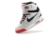 e7950e2dafa9 Within the higher Sport Shoes Dec 2014 Nike Air Revolution Sky Hi Womens  White and Gym Red Black