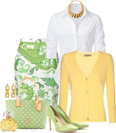 """""""* Malene Birger Locise Printed Skirt *"""" by hrfost1210 on Polyvore"""