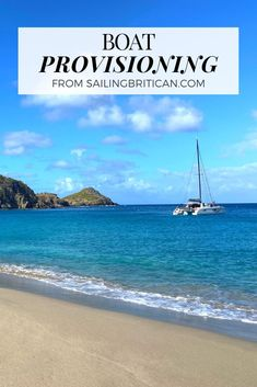 Learn quick and easy ways to make cooking and boat provisioning a breeze. This is for sailors, boaters and sailboat owners. Visit Sailing Britican now for more information. #sailing #provisioning #boating Sailing Basics, Boat Organization, Boating Tips, Buy A Boat, Dinghy, Batch Cooking, Kinds Of Salad, Boater, How To Get Rich