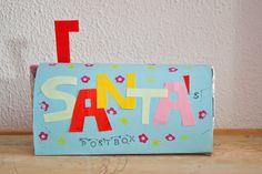 Pigs & Roses. Santa's Postbox. Christmas. El buzón de Papá Noel. Navidad. DIY. Handmade. Kids. Manualidades con niños.