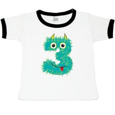 Monster Birthday Tee! $26. | Birthday Party Monster Tees