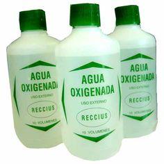 20 remedios caseros con agua oxigenada