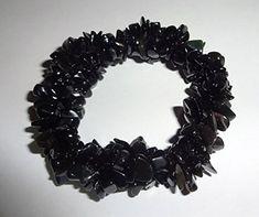 1pc Black Obsidian Natural Healing Crystal Triple Twist Braided Chip Gemstone 7 Inch Stretch Bracelet Sublime Gifts http://www.amazon.com/dp/B00XM72N08/ref=cm_sw_r_pi_dp_G2hwwb10JMWR3