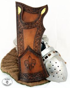 Quasi medieval Quiver/Leather Quiver/Fantasy Quiver/ Tooled Quiver/Carved Quiver/Dekoriert Köcher