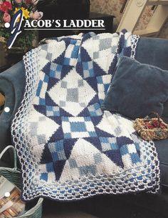 🏠 Padrão Cobertor Afegão Crochê itens decorativos Criações -  /  🏠 Pattern Afghan Blanket Crochet Knacks Creations -