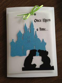 My own custom, handmade, personalized wedding invitations :)