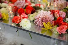 via style me pretty, photo credit: Jasmine Star, styling by In The Now Weddings & Events