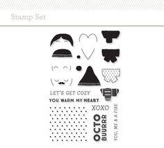 Stamp Set: Scarf at @studio_calico