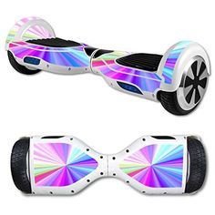 A rainbow hover board ( on my wish list ). They are super fun to ride around in the summer.