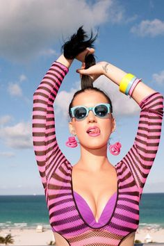 Katy Perry making us New Yorkers miss summer already