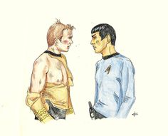 Daydream [Spirk] by AloiInTheSky on @DeviantArt