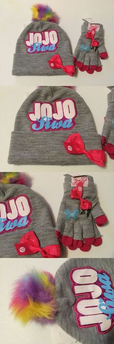 b297cc709d5 Hats 15630  Jojo Siwa Bow Winter Hat And Gloves Set - New With Tags -  BUY  IT NOW ONLY   19.99 on  eBay  winter  gloves