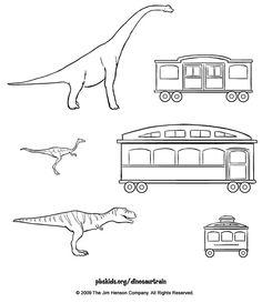 Dinosaur Train . Printables | PBS KIDS