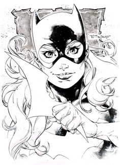 Batgirl by Art Thibert