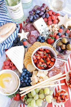 Healthy Dinner Recipes For Weight Loss, Healthy Recipes, Healthy Food, Antipasto, Appetizers For Party, Appetizer Recipes, Appetizer Ideas, Forth Of July Appetizers, Summer Recipes