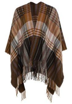 Extra langer und breiter Schal im Poncho-Style. s.Oliver Schal - brown check für € 39,95 (21.01.15) versandkostenfrei bei Zalando.at bestellen.