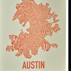 Great Austin poster! Ork Posters