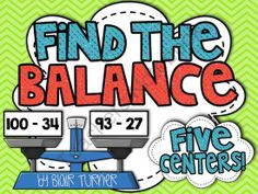 Find the Balance! Equalities and Inequalities Centers from Blair Turner on TeachersNotebook.com (33 pages)  - Young learners often struggle with equations and inequalities. Help your students understand that the equal sign separates two sides with equal values. These centers will develop number sense, conceptual understanding of abstract math concepts, and reinfo