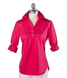 Ann Mashburn popover shirt