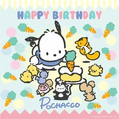 Happy Birthday the Leap Year pup, Pochacco!