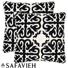 @Overstock - With a fresh, contemporary, eye-catching pattern, these decorative pillows are a lovely addition to any decor. These throw pillows feature a Morrocan inspired design with hand-stitched embroidered detail.http://www.overstock.com/Home-Garden/Moroccan-18-inch-Embroidered-Decorative-Pillows-Set-of-2/5902938/product.html?CID=214117 $61.20