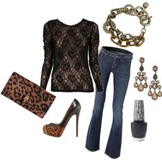 Leopard, created by krystatarman on Polyvore