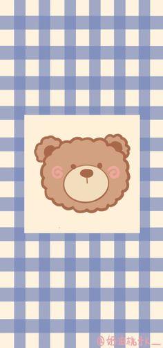 Cute Pastel Wallpaper, Soft Wallpaper, Cute Wallpaper For Phone, Bear Wallpaper, Cute Patterns Wallpaper, Kawaii Wallpaper, Aesthetic Iphone Wallpaper, Aesthetic Wallpapers, Hd Cute Wallpapers