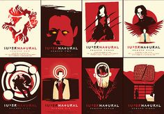 Supernatural minimalist posters by risarodil