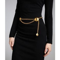 ab360f41c569 Chanel Gold Metal Chain Belt It s a cinch to get a good outfit some great  style