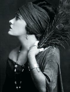 Gloria Swanson, one of the first movie stars.