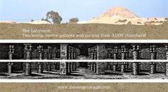Ancient underground labyrinth in Egypt