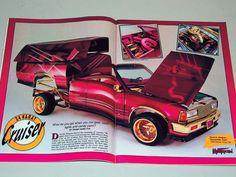 cars and trucks gold chrome wire rims Mini Trucks, Cool Trucks, Truck Paint Jobs, Lowrider Trucks, Old School Cars, Gold Chrome, Custom Paint Jobs, Custom Trucks, Friends In Love