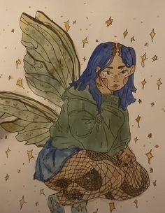 Indie Drawings, Cool Art Drawings, Art Drawings Sketches, Arte Grunge, Grunge Art, Arte Indie, Indie Art, Arte Sketchbook, Funky Art