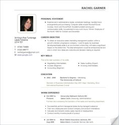 Free Resume Examples It Sample Resume Template 2 Column Resumes Templates  Pics Free .  Free Sample Resumes