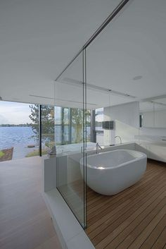 House at a Lake by BBSC Architects