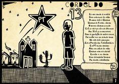 Faltam 13 dias para as eleições. A contagem regressiva será o Cordel do Elmano. Dia 07/10, vote 13! #Elmano13doPT