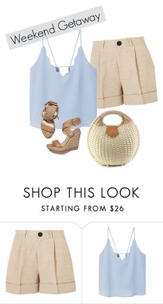 """1"" by gulvirabaeva on Polyvore featuring мода, Totême, MANGO и Stuart Weitzman"