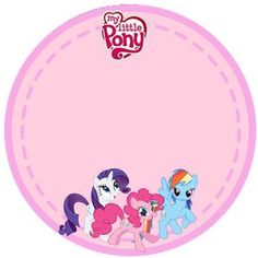 My Little Pony Free Printable Kit.