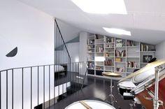 Interiorismo de un piso en Girona : Estudios y despachos de estilo minimalista de FAA Fraguell Arquitectes Associats, scp
