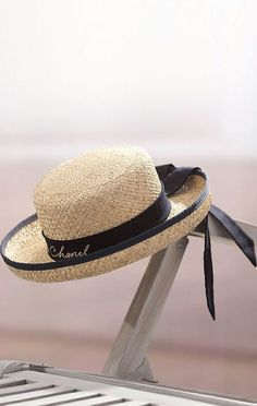 Chanel.com-The French straw hat goes with everything!-KChic Sombreros De ac826d003a7